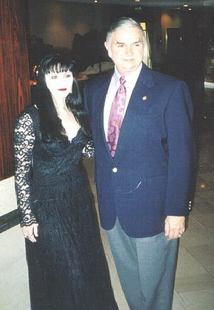 Temple of Set - Aquino with his wife Lilith in 1999