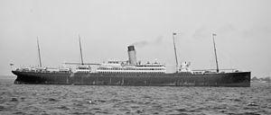 SS Arabic (1902) - Arabic in about 1905