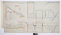 Arbetsritning, fastigheten nr 4 Hamngatan - Hallwylska museet - 105284.tif