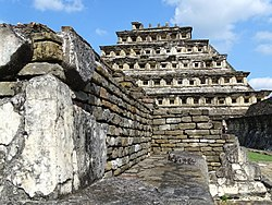 Architectural Detail - El Tajin Archaeological Site - Veracruz - Mexico - 14 (15835893150).jpg