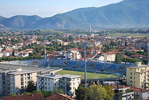 Arena Garibaldi – Stadio Romeo Anconetani - Image: Arena Garibaldi – Stadio Romeo Anconetani A.C. Pisa