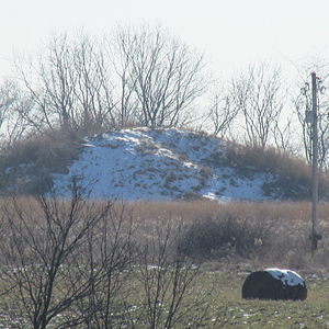 National Register of Historic Places listings in Pickaway County, Ohio - Image: Arledge Mounds Iand II