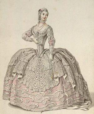 Teresa Albuzzi-Todeschini - Albuzzi-Todeschini as Tusnelda in Hasse's Arminio (Dresden 1753)