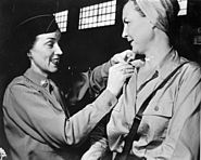 Army nurses rescued from Santo Tomas 1945e