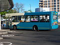 Arriva bus 1748 Dennis Dart Plaxton Pointer V748 ECU in Sunderland Park Lane Interchange 9 May 2009.jpg