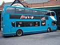 Arriva bus 7511 Alexander Dennis Trident 2 Enviro 400 NK57 GXD in Newcastle 9 May 2009.jpg