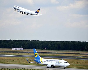 Arrival and departure at Tegel Airport.jpg