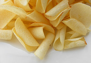 Sagittaria - Crisps (chips) made from tuber