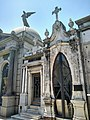 Art Nouveau Type Tombs Recoleta Cemetery Buenos Aires Argentina.jpg