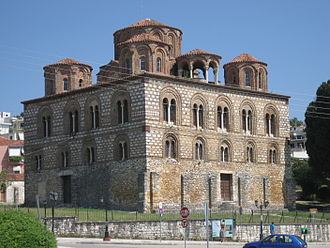Despotate of Epirus - The Paregoretissa Church, the new cathedral of the Despotate's capital, Arta, built in the 13th century during the reign of Nikephoros I Komnenos Doukas.
