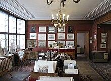 Innenansicht vom Geschäft im Artaria-Haus (Quelle: Wikimedia)