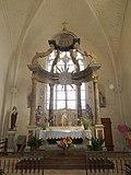 Hauptaltar mit Tabernakel in der Kirche St-Martin in Arthenac