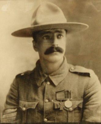 Agar Adamson - Arthur Herbert Lindsay Richardson, awarded a Victoria Cross at Adamson's recommendation