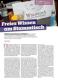 Wikipedia persönliche bekanntschaften