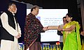 Arun Jaitley presented the Presidential certificates of Appreciation to the officers of Customs, at the Investiture Ceremony 2017 and International Customs Day 2017.jpg