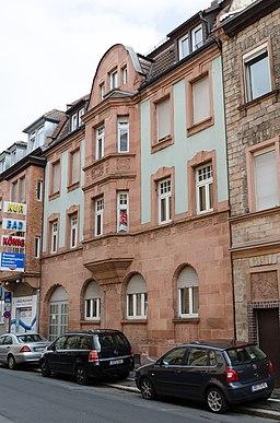 Duccastraße in Aschaffenburg