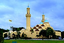 Ash-Shaliheen Mosque, Brunei Darussalam(outside).JPG