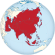Asia on the globe (red).svg