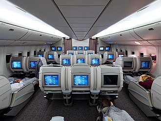 Asiana Airlines - Old Business Class on a Boeing 777