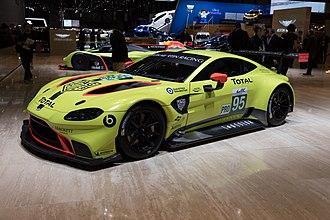 Aston Martin Vantage (2018) - Aston Martin Vantage AMR at the 2018 Geneva Motor Show