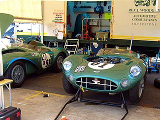 Aston Martin DBR1 type of racing car manufactured by Aston Martin