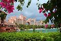 Atlantis Resort framed by flowers.jpg