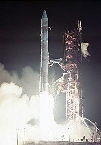 Atlas-Centaur launch with Mariner 10