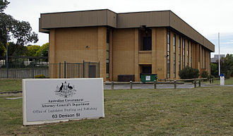 Attorney-General's Department (Australia) - The Office of Legislative Drafting and Publishing in Deakin, ACT. The Office is a division of the Attorney-General's Department.