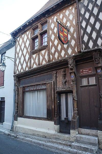 Maison du Bailli   Aubigny-sur-Nère|  Cher ), France