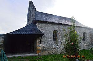 Aucazein - The Church of Saint Aubin