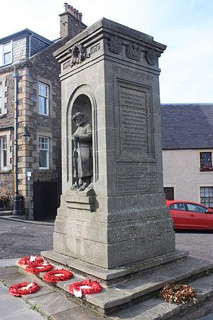 Reginald Fairlie - Auchtermuchty War Memorial