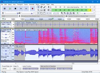 Audacity (audio editor) open-source digital audio editor and recording application