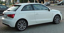 Audi A1 1.6 TDI Ambition rear-1 20100901.jpg