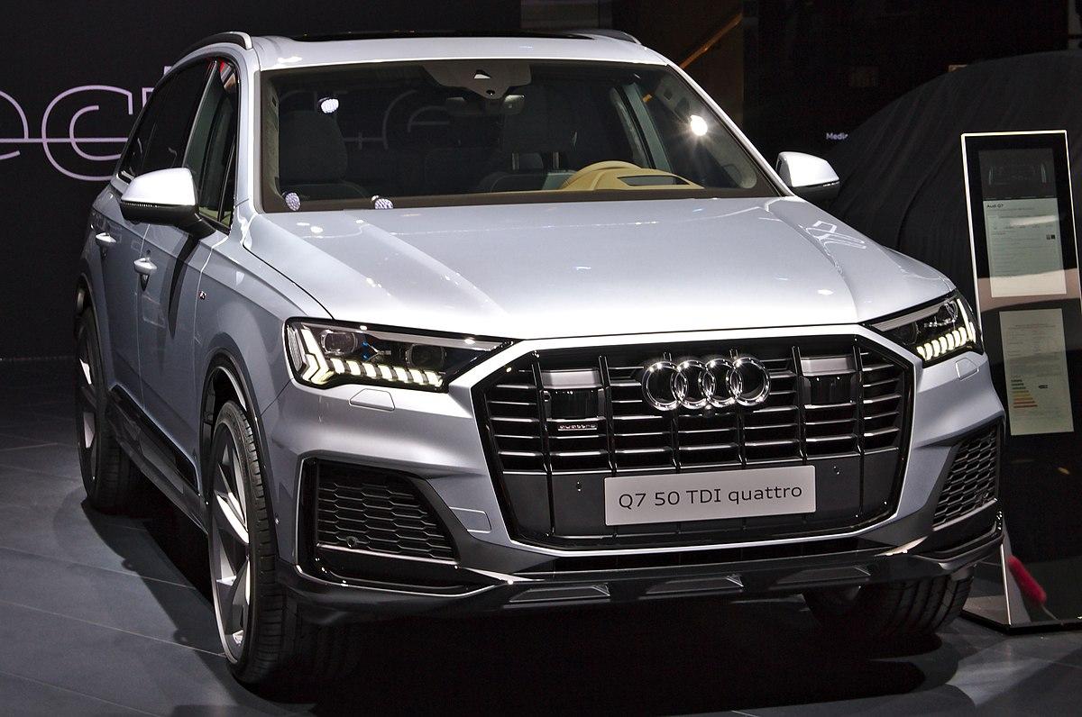 2016 Audi Q8 >> Audi Q7 Wikipedia