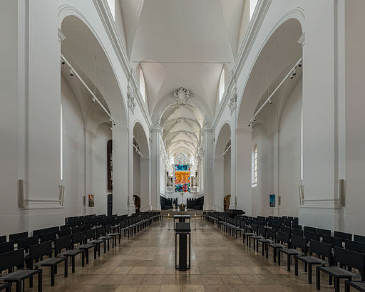Augustinerkirche, Würzburg, Nave 20150814 1