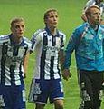 Augustinsson celebrates for IFK Göteborg.jpg