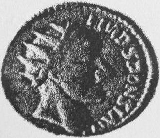 Sponsianus - The Aureus bearing the inscription of Sponsianus