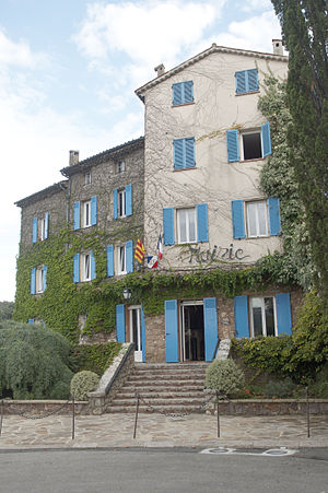 Auribeau-sur-Siagne - The Town Hall at Auribeau-sur-Siagne