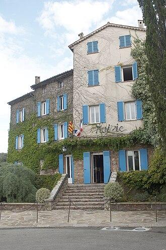 Auribeau-sur-Siagne - The Town Hall at Auribeau-sur-Siagne