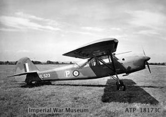 Auster - The Auster A.2/45 second prototype, VL523, of 1949