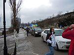 Kravallpolis stormar demonstranternas barrikader i istanbul