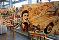 Automotive Collage with Elvis - Artwork of Bernd Luz.JPG