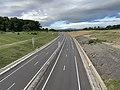 Autoroute A406 vue depuis Pont Route D1079 Crottet 5.jpg