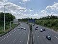Autoroute A4 vue depuis Pont Avenue Tremblay Paris 1.jpg