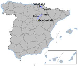 Autovía A-15 - Image: Autoviaesp a 15