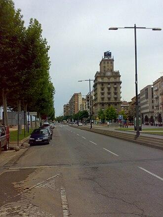 CaixaForum Lleida - The building hosting CaixaForum Lleida.