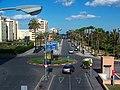 Avenida del Ejército (este) desde la pasarela Hércules, La Línea de la Concepción.jpg