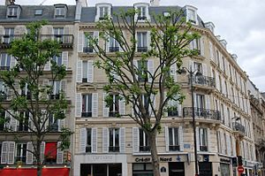 Avenue des Ternes - Avenue des Ternes Near Hotel Concorde La Fayette and Place du Général Kœnig.