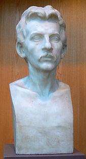 Hugo Lederer: Büste Hans Pfitzner, 1902 (Quelle: Wikimedia)