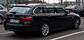 BMW 520i Touring Modern Line (F11, Facelift) – Heckansicht, 22. Februar 2014, Düsseldorf.jpg